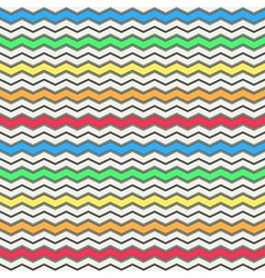 Colorful waves pattern vector image vector image