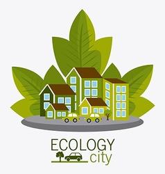 Ecocity design vector