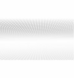 3d white and grey abstract perspective background vector