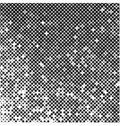 abstract halftone background texture black dots vector image