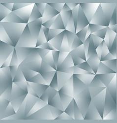 Abstract irregular polygonal background gray vector