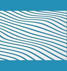 abstract wavy pattern of stripe line ocean vector image