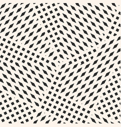 Geometric seamless pattern with tiny black shapes vector