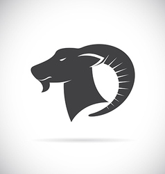 Image an goats head vector