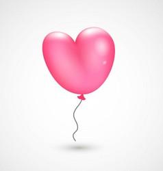 Valentines balloon vector image