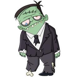zombie man vector image
