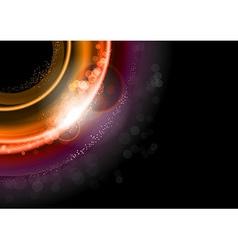background red dark vector image