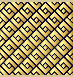 abstract geometric seamless pattern chinese vector image vector image