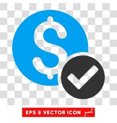 Approved Payment Icon vector image