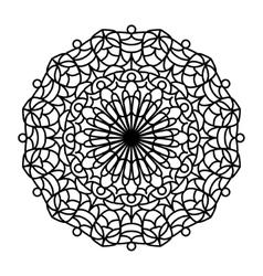 Coloring Book Mandala vector