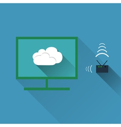 Concept of wireless cloud network and distributed vector