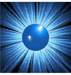 disco explosion vector image