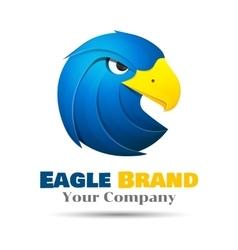 Eagle logo template business icon vector