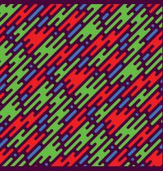 Flat style smoke seamless pattern vector