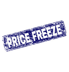 Scratched price freeze framed rounded rectangle vector