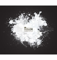 White blots vector