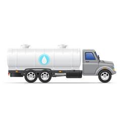cargo truck 11 vector image