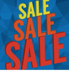 Sale Banner Background vector image