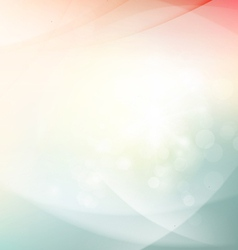 Abstract sunshine shiny flow background vector image