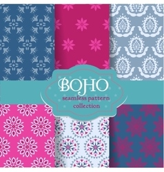 Boho chic set vector