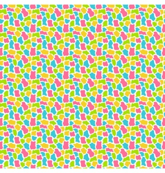Bright fun abstract seamless pattern with spots vector image vector image