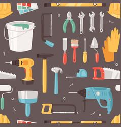 construction equipment constructive tools vector image