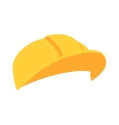 Construction helmet vector image