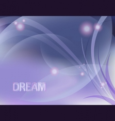 dreamy design vector image