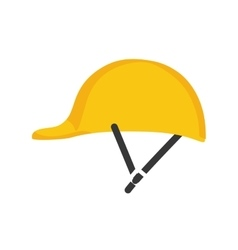 Helmet icon Industrial security design vector