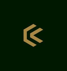 Letter c initial symbol logo design vector