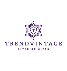 Letter T Monogram pattern trendy vintage logos vector image