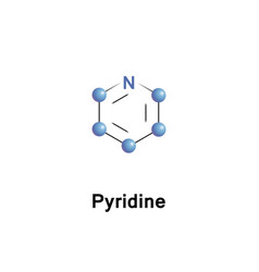 Pyridine heterocyclic organic vector