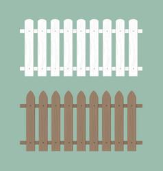 wooden fence farm wood wall yard vector image