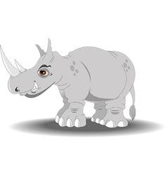 Cartoon rhino vector