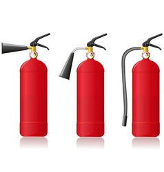 fire extinguisher vector image
