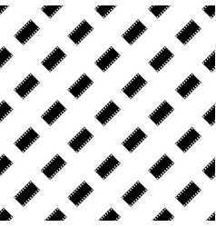 seamless pattern of film strip vector image
