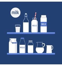 Set milk vector