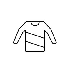 Sweater icon vector