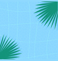 swimming pool background summer wallpaper texture vector image