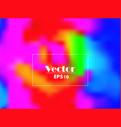 Vivid rainbow gradient abstract background vector