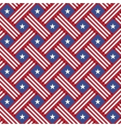 USA Independence day seamless pattern vector image