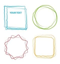 design element grunge vector image vector image