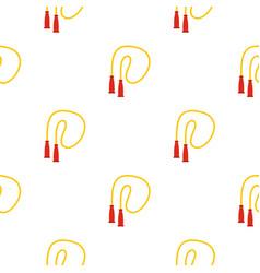 skipping rope pattern flat vector image vector image