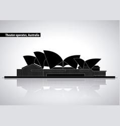 Australia places relate vector