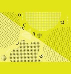 children playground banner design concept vector image