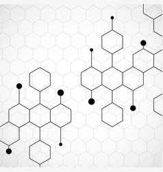 Honeycomb pattern background vector