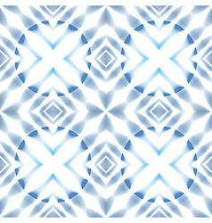 seamless Scandinavian stars blue ice patter vector image