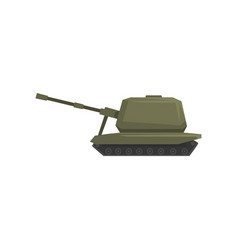 tank army machine heavy special transport vector image