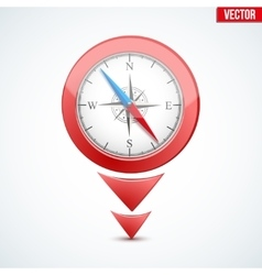 Pointer target for map vector image
