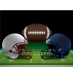 Football Bowl Game vector image vector image
